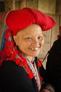 Red Zao lady