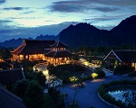 Emeralda Resort Ninh Binh at night