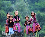Happy Hmong Kids