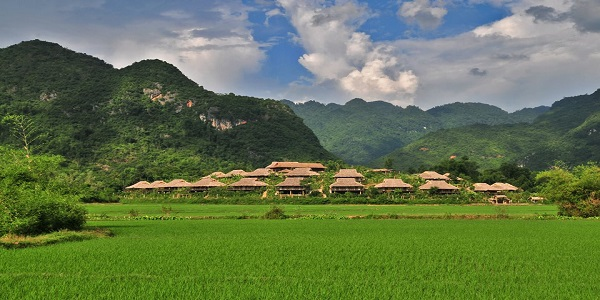 Mai Chau in ever green valley